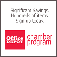 Office Depot Box Ad White