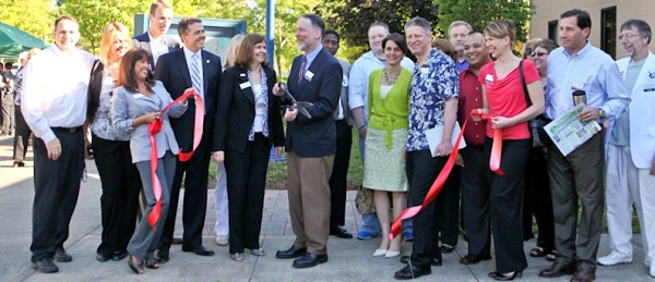 Ribbon Cutting Chamber Kiosk 2012